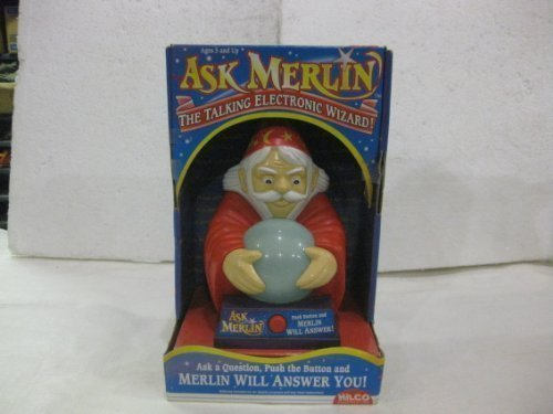 Ask Merlin The Talking Electronic Wizard]()
