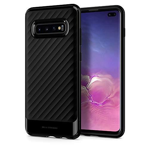 Spigen Neo Hybrid Designed for Samsung Galaxy S10 Plus Case (2019) - Midnight Black