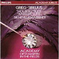 "Grieg / Sibelius: ""Holberg"" Suite / ""Karelia"" Suite"