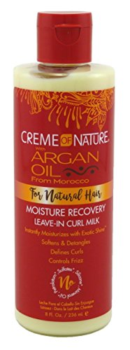 Creme of Nature with Argan Buttermilk leave-in hair milk 8oz, 8 Ounce - Buy Online in UAE ...