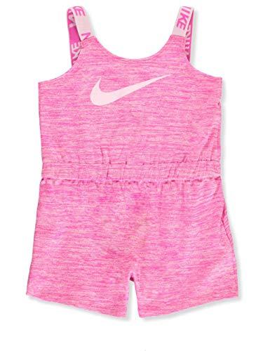 Nike Baby Girls' Romper - Laser Fuchsia, 3 Months Baby Phat Little Girl