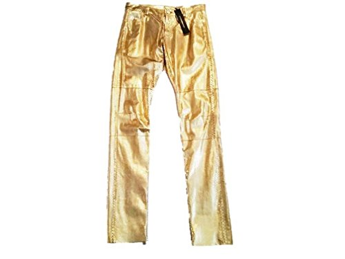 alexandre-vauthier-womens-python-pants-gold-4