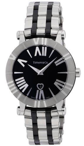 Tiffany & Co. Watch Atlas Black Dial - Tiffany & Outlet Co Store