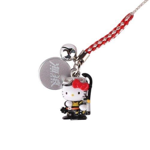 - Sanrio Hello Kitty x Brave Hearts Netsuke Cellphone Strap