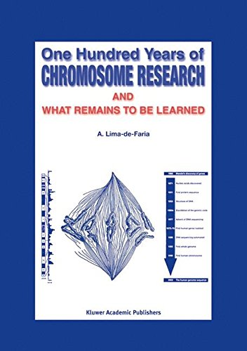One Hundred Years of Chromosome Research and What Remains to be Learned pdf epub