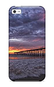 Hot Tpu Case Cover Compatible For Iphone 5c/ Hot Case/ Locations Hermosa Beach 8704482K75645371
