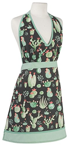 Designs Amelia Apron - Now Designs Apron Amelia Cacti