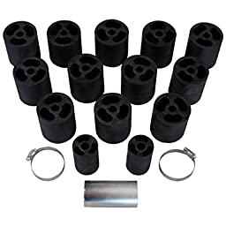 Performance Accessories (533) Body Lift Kit for Chevy/GMC