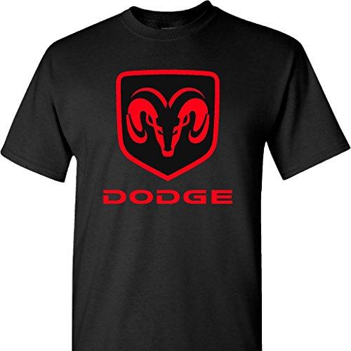 dodge-ram-logo-on-a-large-black-t-shirt