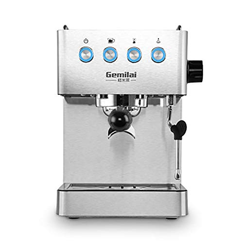 WEIWEI Programmable Coffeemaker, with Independent steam System, high Density Filter, Commercial Temperature Control Technology