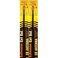 LOT OF 2 Firestik KW3-B 3 5/8 Wave 300 Watts CB Radio Antenna (BLACK)