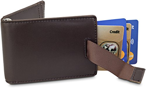 1a4b96382bb TRAVANDO Money Clip Wallet ORLANDO Mens Wallet slim Front Pocket RFID  Blocking Card Holder Minimalist Mini