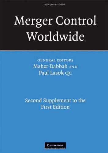Merger Control Worldwide: Second Supplement to the First Edition