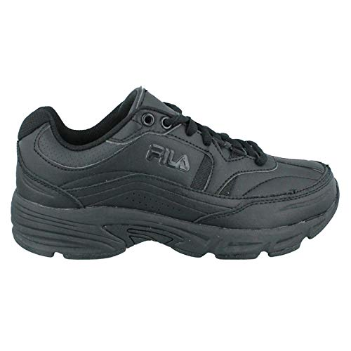 Fila Women's, Memory Workshift Slip Resistant Shoe Black 12 M