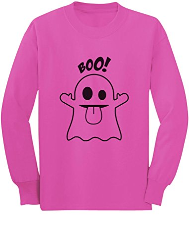 Baby Boo Ghost Costume Cute Easy Halloween Toddler/Kids Long Sleeve T-Shirt 2T (Cute Easy Toddler Halloween Costumes)