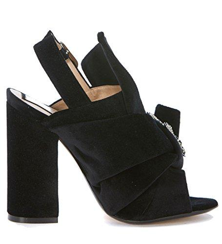 N. 21 Sandalo Velluto Nero - 36