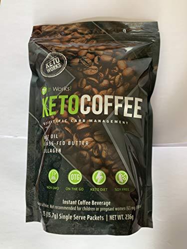 It Works Keto Coffee Ketocoffee 15 Individual Servings Per Bag