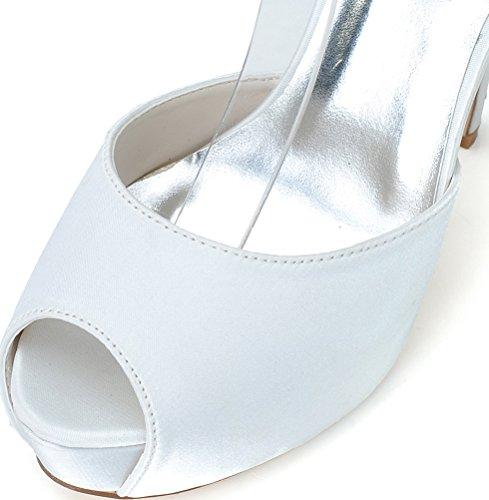 Bianco Salabobo Toe Bianco Donna Aperta qwtwAB7