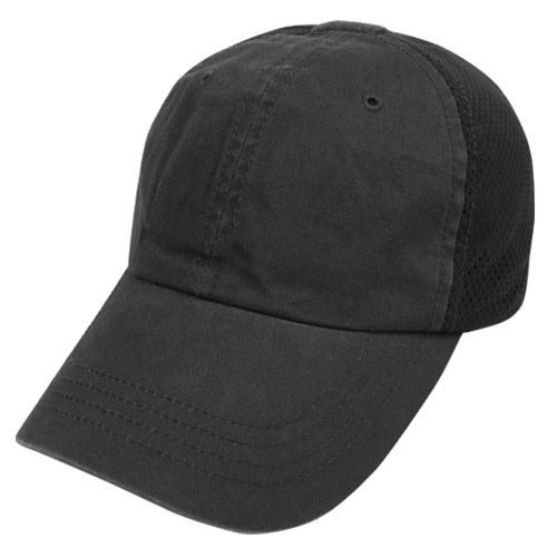 Condor Outdoor Mesh Tactical Team Cap (Black)