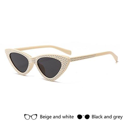 Vintage Oculos Pequeño Mujer Negro Retro Eyewear azul De Sol Rojo Zhangyusen Gray2 Para Damas Gafas Ray afpaqx4w