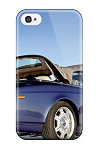 Hot Style EgrgCMs2253DbhUS Protective Case Cover For Iphone4/4s(rolls Royce Desktop Wallpaper)