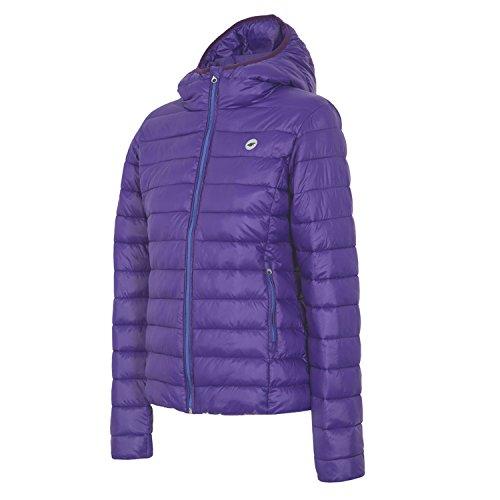 4F 4°F Women's Down Jacket Hood Padded Jacket purple