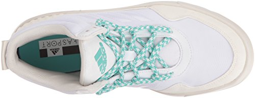 adidas Performance Womens Irana Cross-Trainer Shoe White/White Vapor/Joy Green OoTYcgP