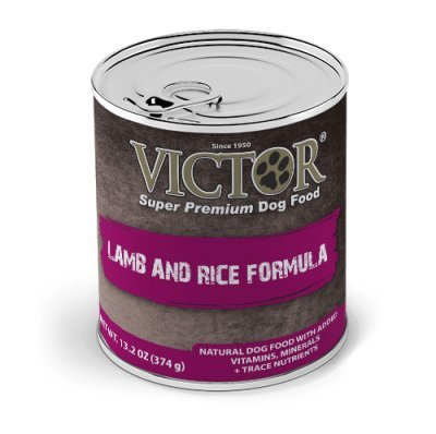 Victor Lamb and Rice Pate Canned Dog Food - 13.2 oz (12 cans in a case)