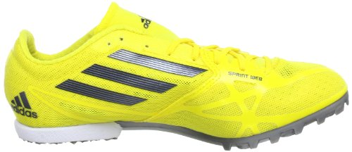 running 1 Jaune Black de MD adizero S13 Chaussures Black adidas 1 mixte Vivid 2 adulte Yellow XABFxf