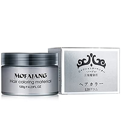 Ochine One-time Molding Paste Hair Style Styling Hair Color Wax Dye Wax Hair Mud