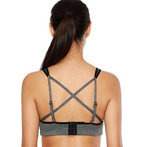 V for City Women's Running yoga activewear sports bras sport bra for women Running Yoga bra Size XL