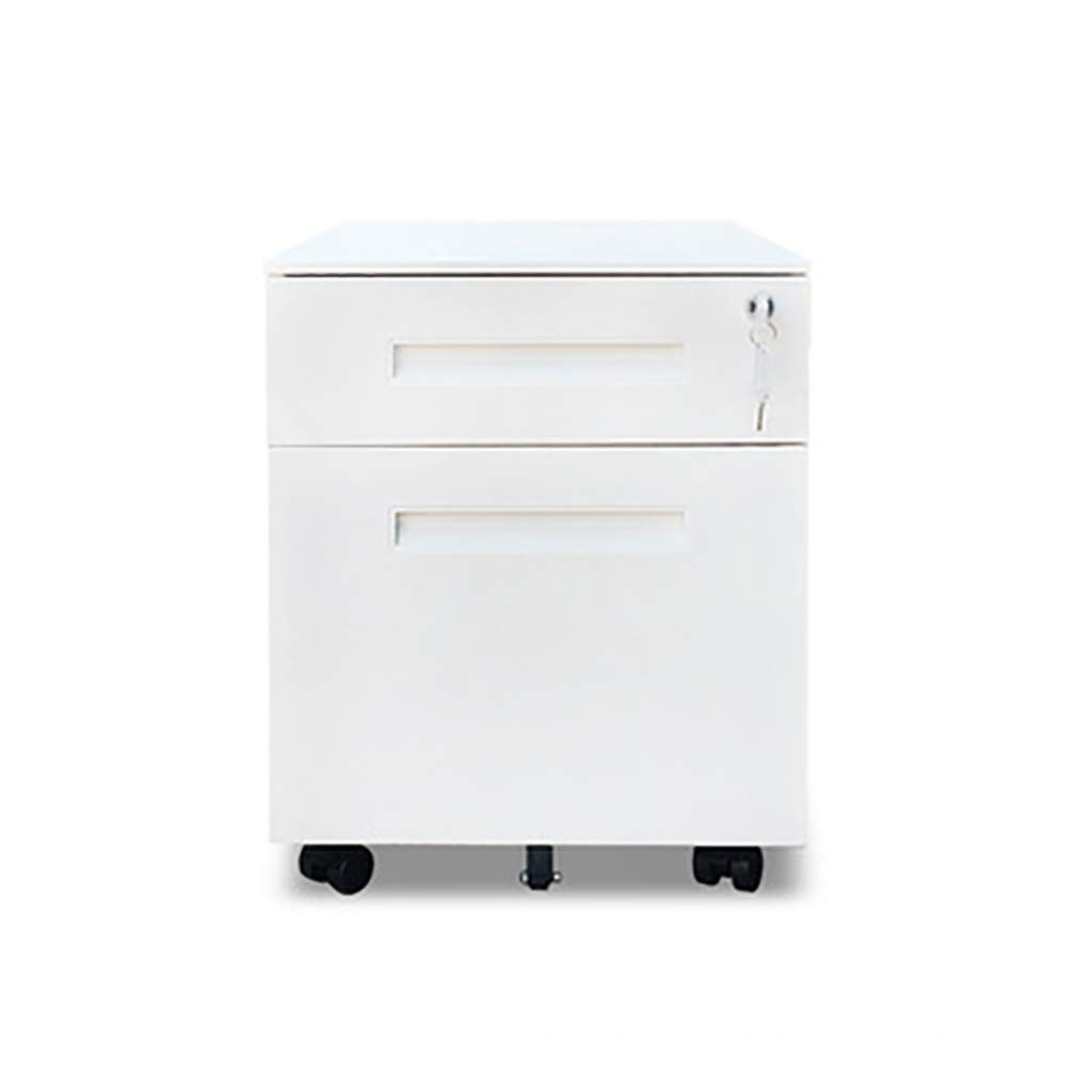 File Cabinet, Desktop Extended Drawer Office Organizer (Steel Plate) 405050CM (Color : B)