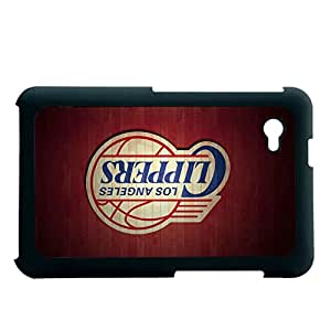 Design With Los Angeles Clippers Hard Phone Cases For Kid For Samsung P6200 Table Choose Design 2