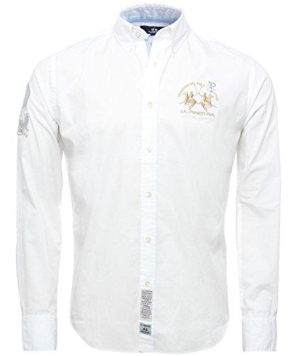 La Martina Plain Poplin Shirt