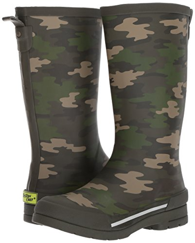 Western Chief Boys Waterproof Classic Youth size Rain Boots, Camo Green, 13 M US Little Kid by Western Chief (Image #6)