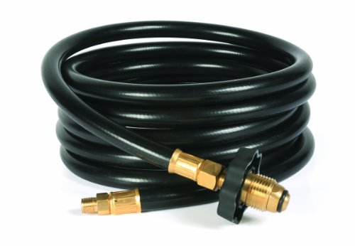 Camco 59035 12' Propane Supply Hose (Tee Hose Connector)