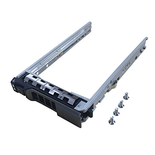 """2.5"""" SAS SATA Hard Drive Tray Caddy for Dell PowerEdge R630 R730 R730XD T630 R430 T430 PowerVault MD1420 MD3420 Series 8FKXC 08FKXC by BestPartsCom"""