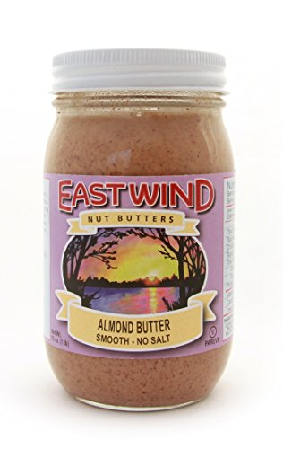 East Wind Smooth Natural Almond Butter No Salt 4-Pack of Jars