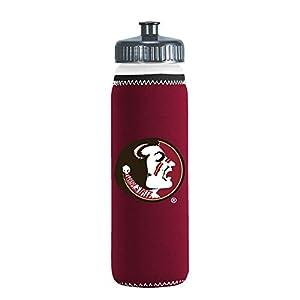 NCAA Florida State Seminoles Van Metro Squeezable LDPE Water Bottle, Maroon, 22-Ounce