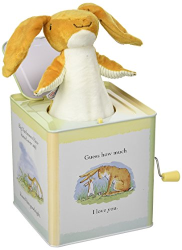 Guess How Much I Love You Nutbrown Hare Jack-in-The-Box, 5.5
