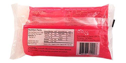 Low Carb, Gluten Free Shirataki Spaghetti, 8 Oz, 12 Pack, Made in USA