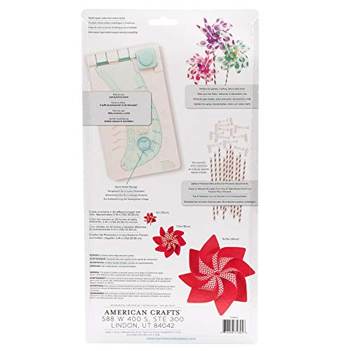 We R Memory Keepers Pinwheel Punch Board | Includes Pinwheel Punch Board, one Corner Punch, one Cutting Template and a Swivel Blade