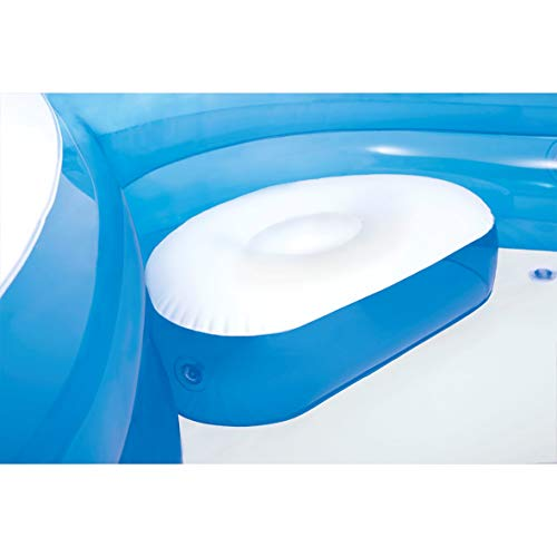 "Intex Swim Center Family Lounge Inflatable Pool, 90"" X 90"" X 26"", for Ages 3+"