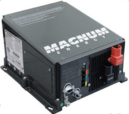 (Magnum Energy RD2824 RD-Series 2800W 24VDC Modified Sine Inverter/80 Amp PFC Charger, Easy-to-install, Multiple ports, Versatile mounting, Convenient switches, Expanded transfer relay)
