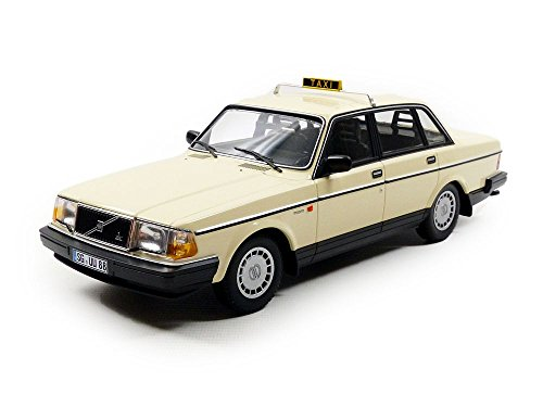 Volvo 240 GL, taxi (D), 1986, Model Car, Ready-made, Minichamps (Volvo Model)