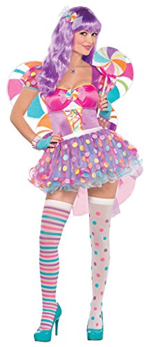 amscan Adult Candy Shop Cutie Costume - Medium (6-8)