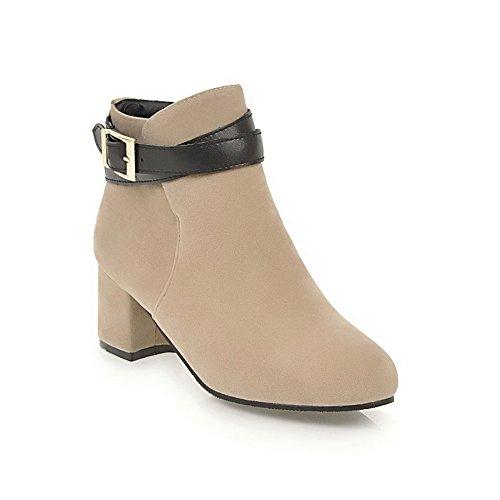 Unknown 1to9mns02407 - Sandales Compensées Pour Femmes, Beige (beige), 35 Eu
