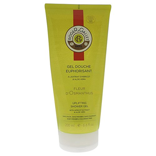 Price comparison product image Roger & Gallet Fleur D'Osmanthus Shower Gel for Unisex, 6.6 Ounce
