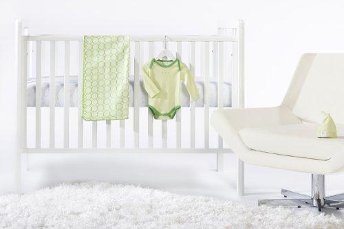 SwaddleDesigns 4 Piece Crib Bedding Set, Pure Green, 0-3months [並行輸入品]   B077ZPZ4B5