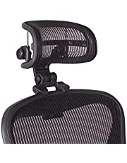 The Original Headrest for The Herman Miller Aeron Chair H3 Carbon | Colors and Mesh Match Classic Aeron Chair 2016 and Earlier Models | Headrest ONLY - Chair Not Included